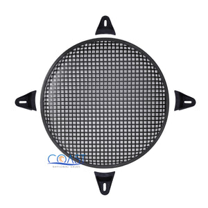 "15"" SubWoofer Metal Mesh Cover Waffle Speaker Grill Protect Guard DJ Car Audio"