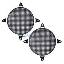 "Load image into Gallery viewer, 2X 15"" SubWoofer Metal Mesh Cover Waffle Speaker Grill Protect Guard Car Audio"