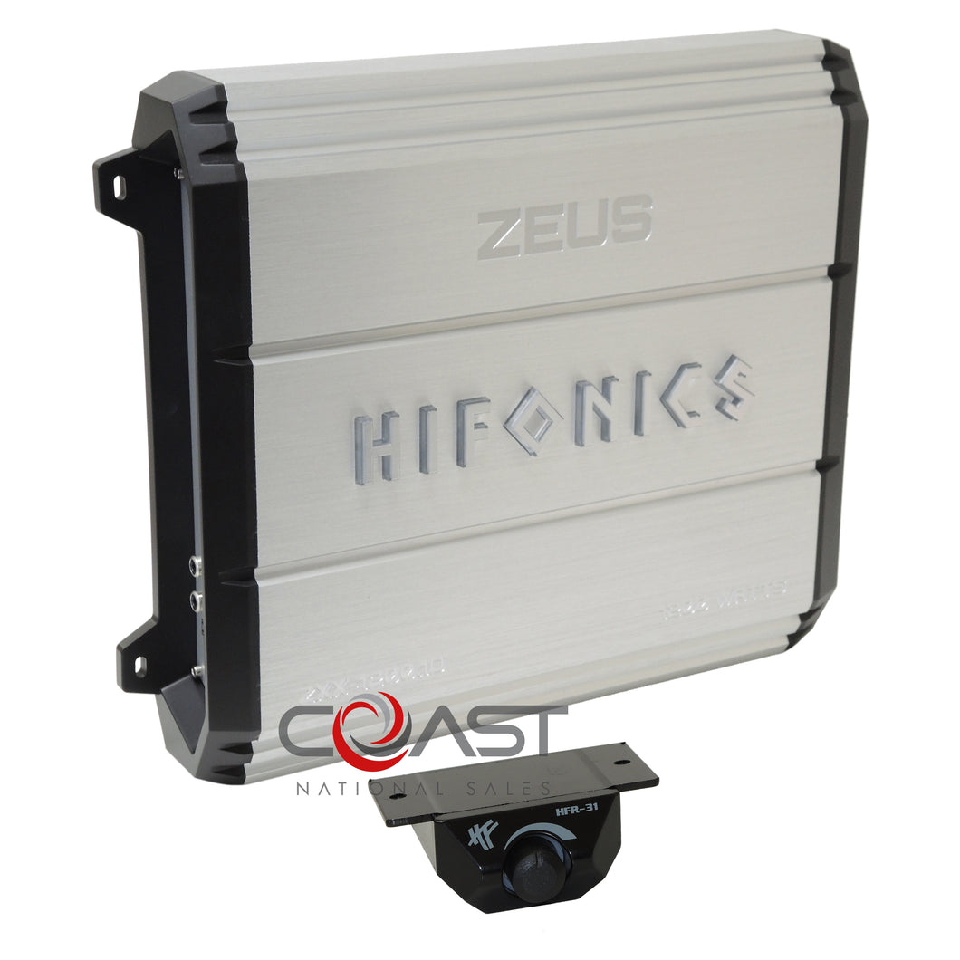 HiFonics ZXX-1200.1D 1200W Zeus Series Class D Car Audio Monoblock Amplifier