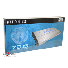 Load image into Gallery viewer, HiFonics ZXX-5000.5 1500W 5-Channel Zeus Series Class A/B Car Audio Amplifier
