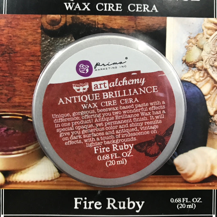 Art Alchemy Antique Brilliance Wax