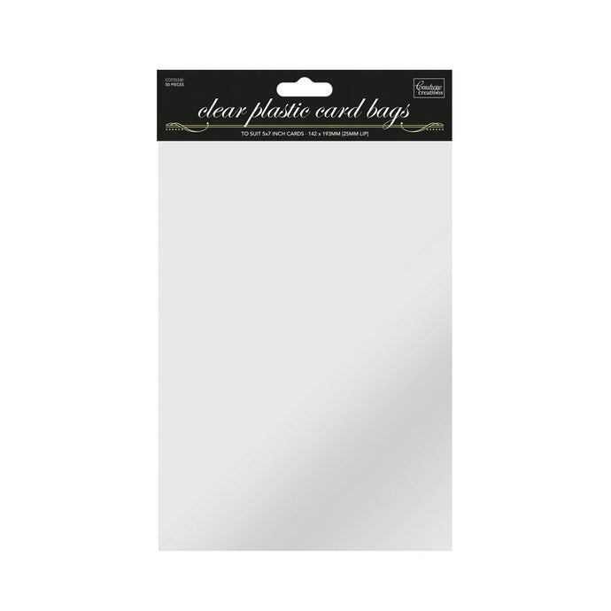Bag - 5 x 7in self sealing (50pk)