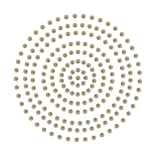Adhesive Pearls - Deep Gold (2mm- 424pc)