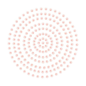 Adhesive Pearls - Vintage Pink (2mm- 424pc)