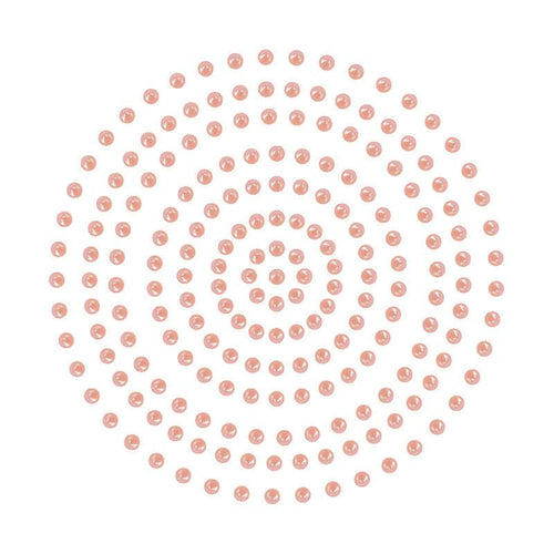 Adhesive Pearls - Coral (2mm- 424pc)