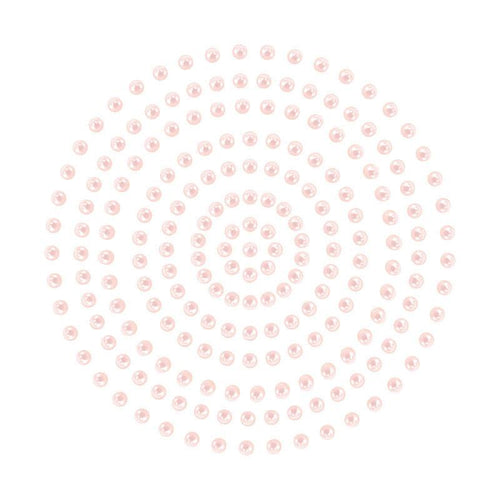Adhesive Pearls - Soft Pink (2mm- 424pc)