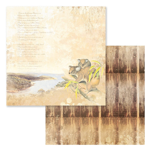 Paper - 12 x 12in Double Sided - Sweeping Plains Sheet 9 (5pc)