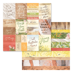 Paper - 12 x 12in Double Sided - Sweeping Plains Sheet 11 (5pc)