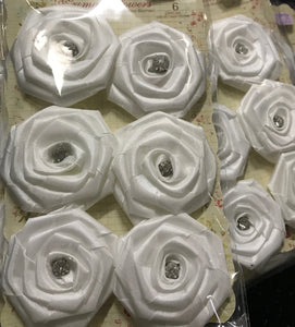 Prima Fabric Flowers with Gems
