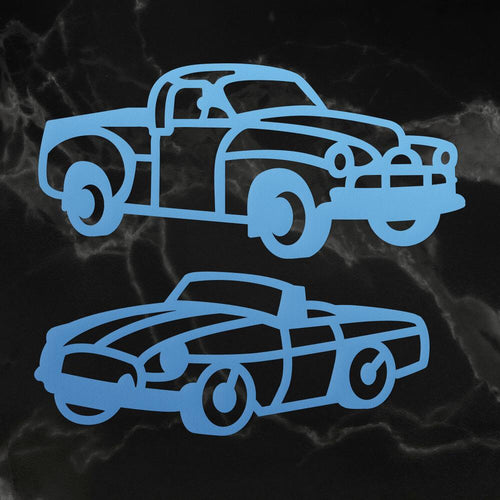 Vehicles Mini Die Set (2pc)