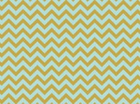 D Ring Album Chevron Mint Metallic Print