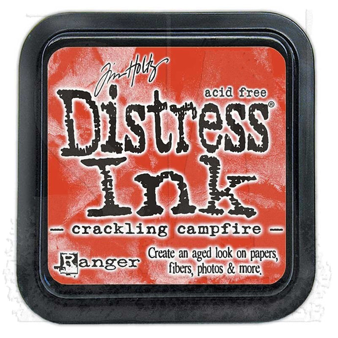 Crackling Campfire Distress Ink
