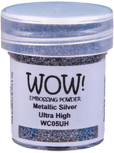Wow Metallic Silver Ultra High Embossing Powder