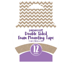 12 mm double sided foam tape