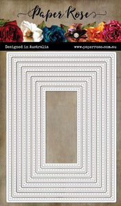 Stitched Rectangles Nested Die Set
