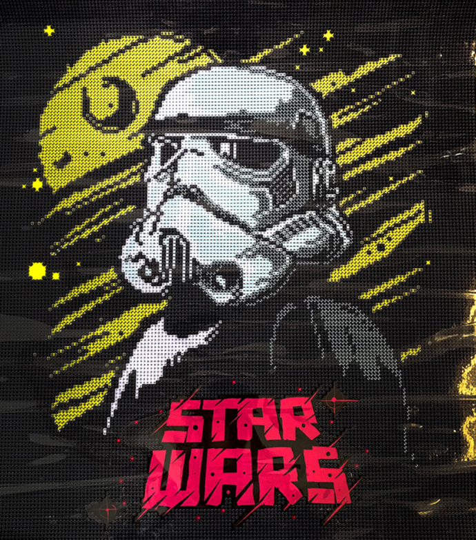 Star Wars Storm Troopers Diamond Dotz