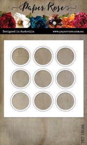 Circle Grid Coverplate 9 Metal Cutting Die