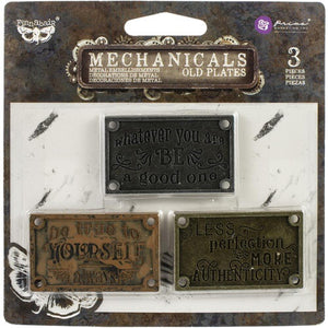 Mechanicals Old Plates