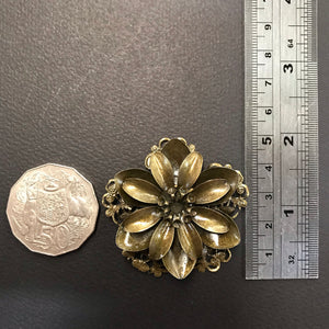 Metal Flower - triple layer