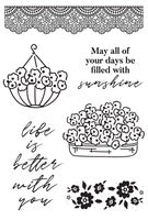Flower Shoppe Clear Stamp
