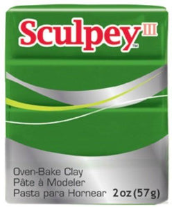 Sculpey 3 leaf green