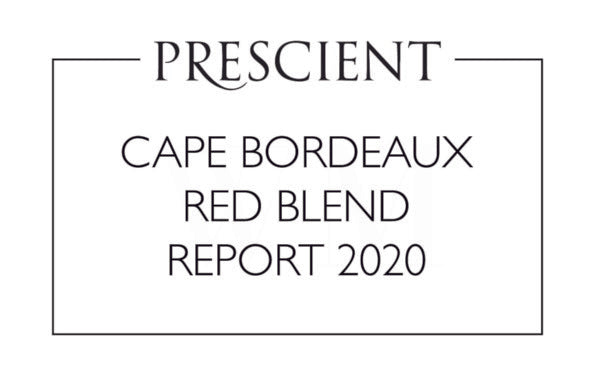 Prescient Cape Bordeaux Red Blend Report 2020 convened by Winemag.co.za