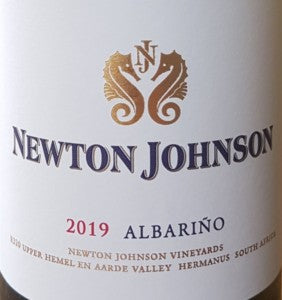Winemag review:Newton Johnson Albariño 2019
