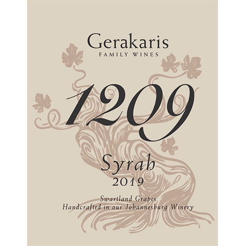 1209 Syrah: Gerakaris Family Wines