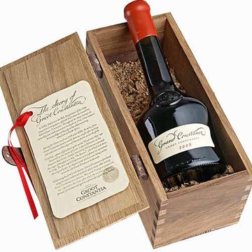 Groot Constantia Grand Constance 2016 in Wooden Case