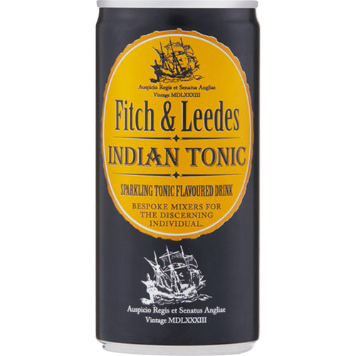 Fitch & Leedes Indian Tonic Cans X 6