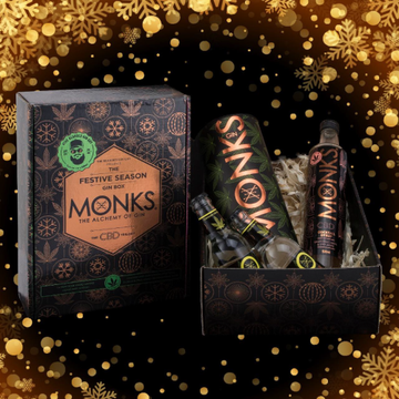 The Monks Festive Season Gin Box