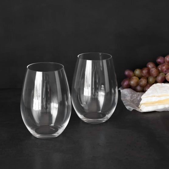 Riedel Stemless Shiraz Glasses, Set of 2