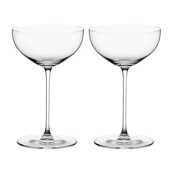 Riedel Veritas Coupe/Cocktail Glasses, Set of 2