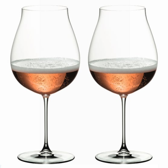 Riedel Veritas Pinot Noir/Rose Champagne Glasses, Set of 2