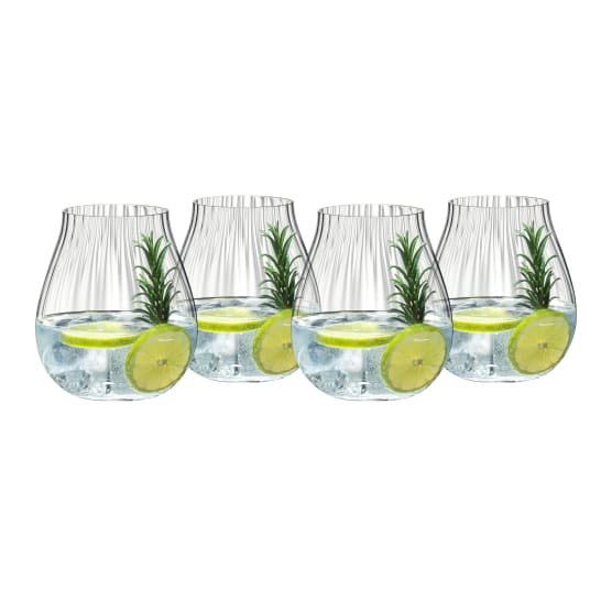 Riedel Optical O Stemless Gin & Tonic Glasses, Set of 4