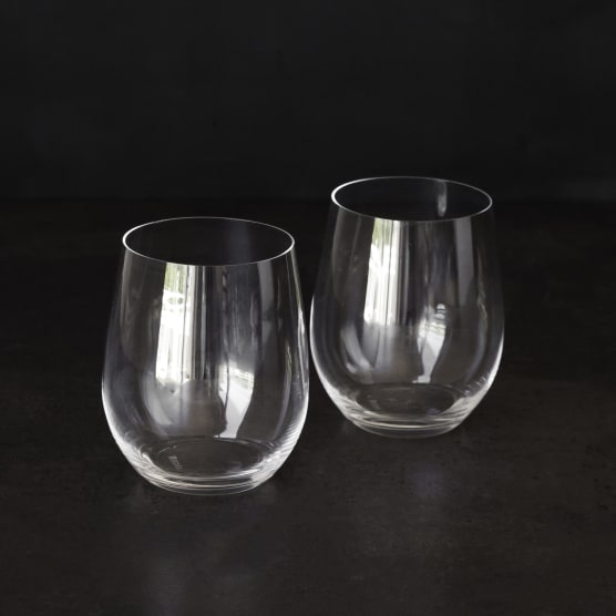 Riedel Stemless Chardonnay/Viognier Glasses, Set of 2