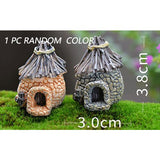 1pcs Vintage Artificial Pool Tower Miniature House Fairy Garden Home Decoration Mini Craft Micro Landscaping Decor