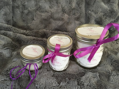 Handcrafted Candle with Essential Oils