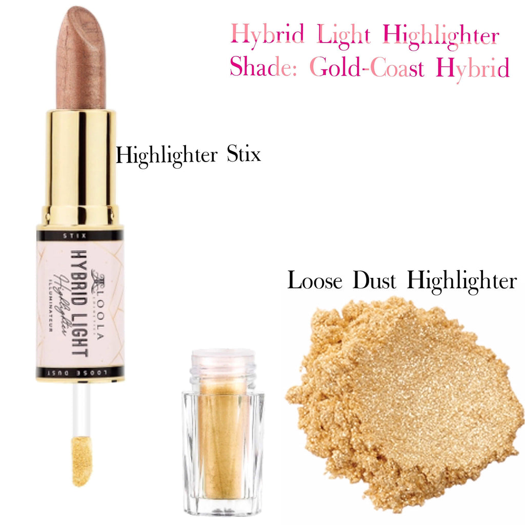 Gold Coast Glow Hybrid Light - Highlighter and Glow Stix - Loolacosmetics