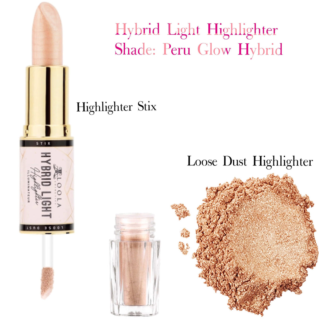 Peru Glow Hybrid Light - Highlighter and Glow Stix - Loolacosmetics