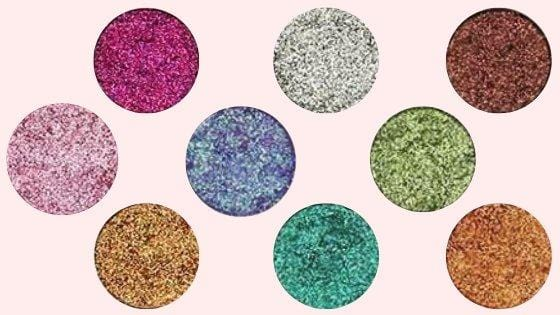 Pressed Glitter Palette - Limited Edition Eyeshadow Palette - Loolacosmetics