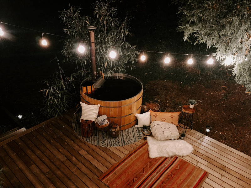 The Perfect Recipe for Relaxation - Wood Fired Hot Tub, Nature & Epsom Salts