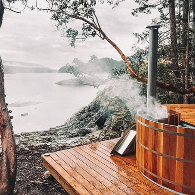 Going Off-Grid with an AlumiTubs Wood-Fired Hot Tub