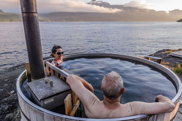 Our aluminum marine-grade liner means your AlumiTubs wood-fired hot tub can be used with saltwater.