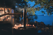 Wood-Fired Off-Grid Hot Tub