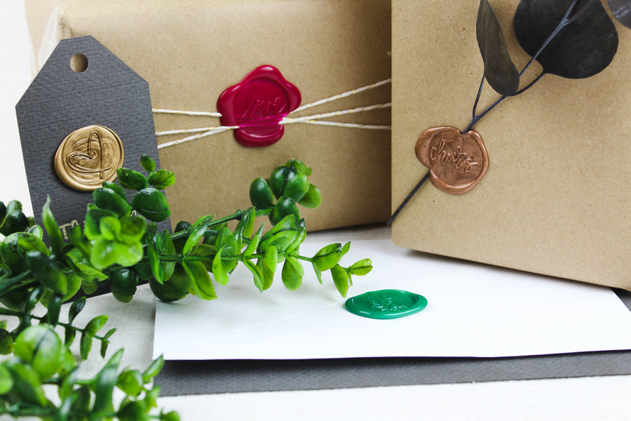 3 Ways to Use Wax Seals for Gift Wrapping