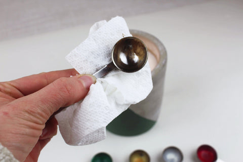 How to Clean Your Wax Spoons | Seville Lettering Company
