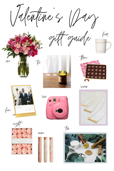 Valentine's Day Gift Guide | Seville Lettering Company