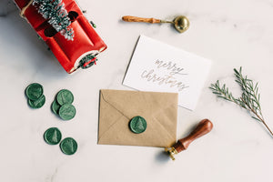 Christmas Tree Wax Seal Stamp Kit - Seville Lettering Company