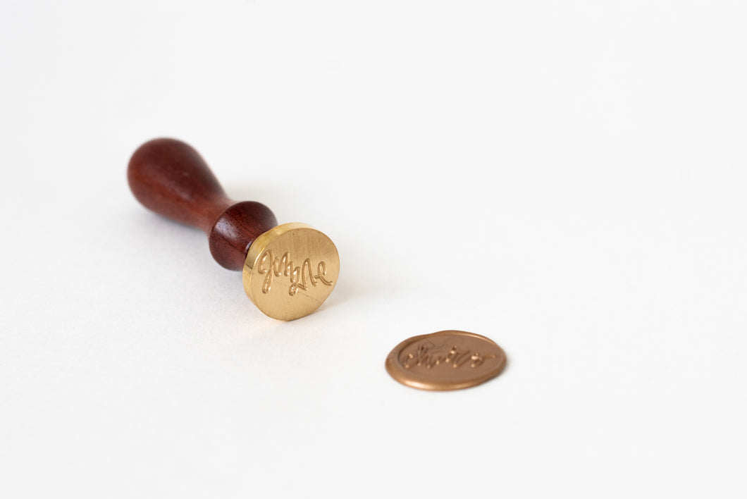 Cheers Wax Seal Stamp - Seville Lettering Company